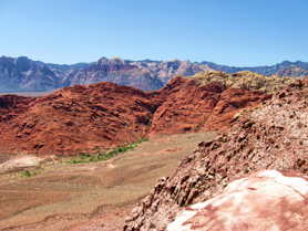 View of Red Rock Canyon