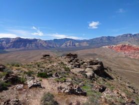 Looking at Red Rock Canyon