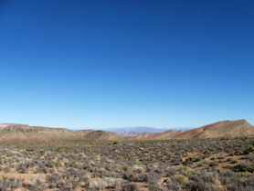 Cottonwood Valley and Las Vegas